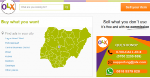 OXL NIGERIA AND LIST OF ALL FREE CLASSIFIED ADS SITES IN NIGERIA