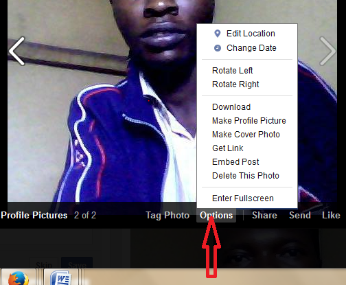 How to delete facebook profile picture without adding new profile option button to delet profile picture ccuart Image collections