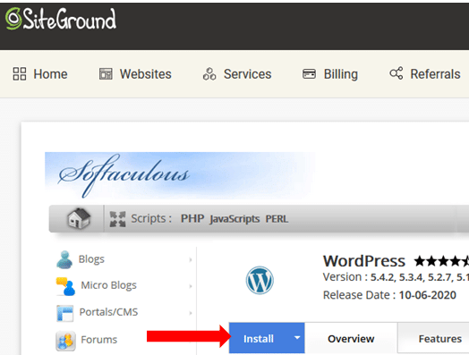 Wordpress Installation Proper