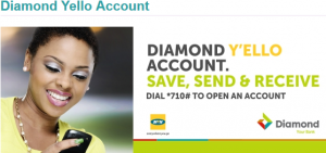 Diamond yello account