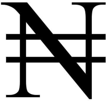 Naira Sign