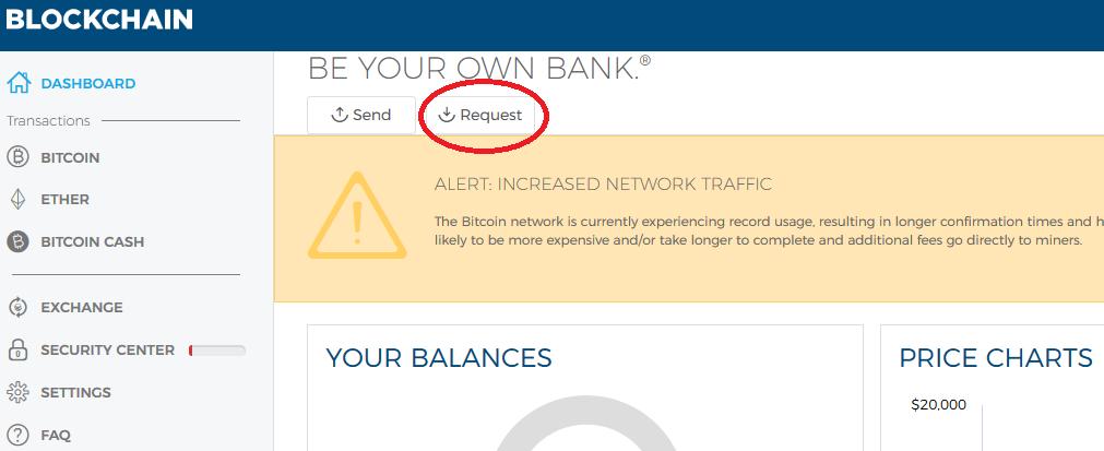 fund bitcoin wallet