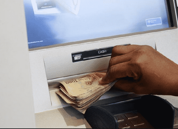 ATM abroad