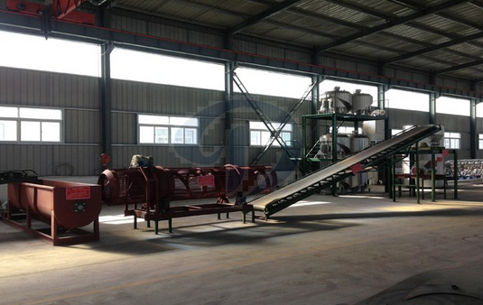 cassava processing machine