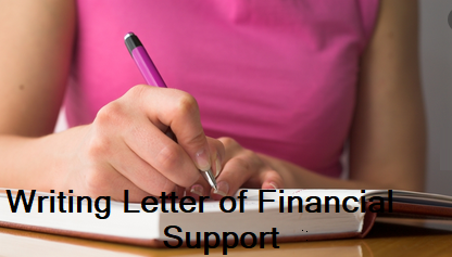 Letter of Financial Assistance