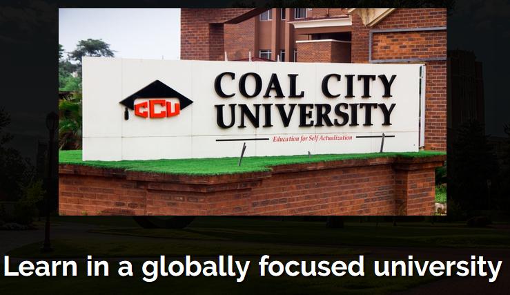 coal city university Job vacancies