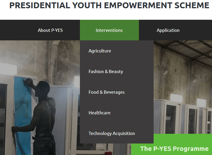 P-YES Nigeria and Recruitment