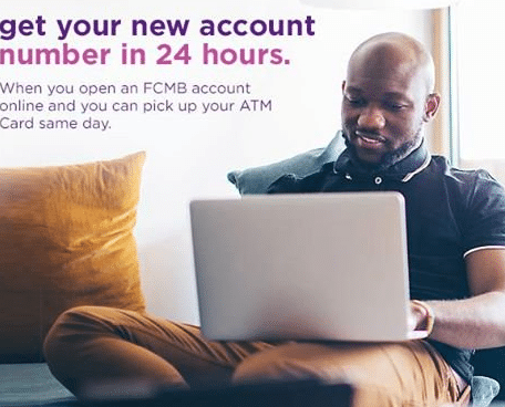 Check FCMB Account Number on phone with code